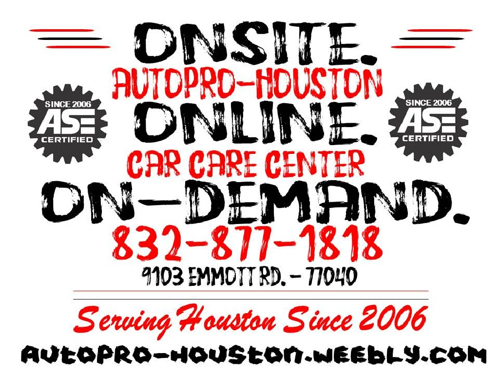 Air Condition Systems Serviced Repaired Replaced at AutoPRO-Houston