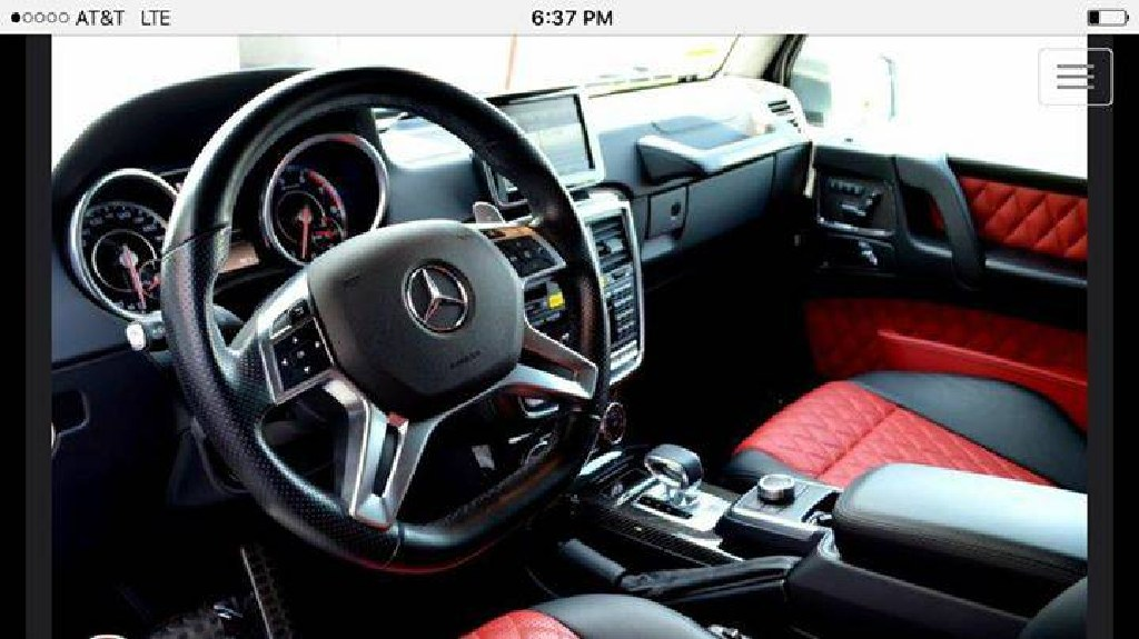 2015 MERCEDES-BENZ G63 AMG CLEAN TITLE-CARFAX-IN-HOUSE FINANCING 35% DOWN!!!NO CREDIT CHECK!!!