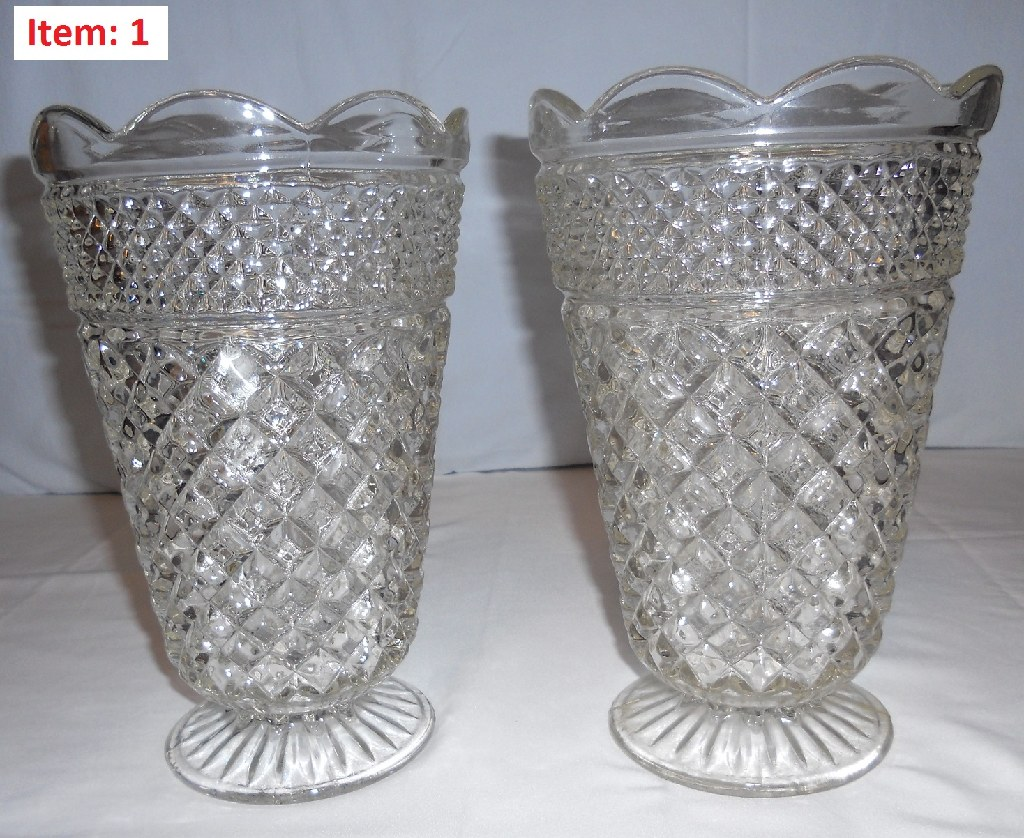 Old Glass Ware { price is for the whole lot }