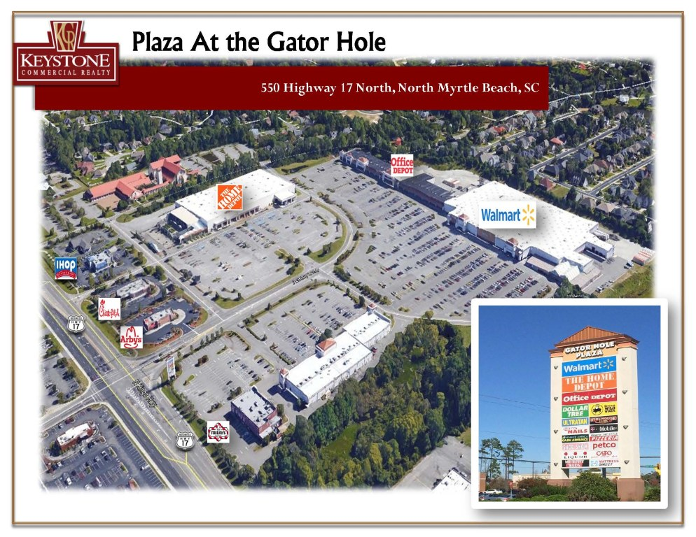 Gator Hole Plaza Unit #24 Retail Space for Lease-North Myrtle Beach