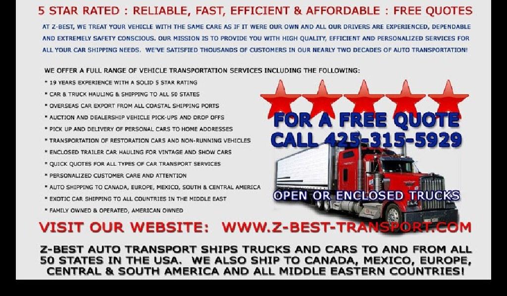 5 rated / Estimado gratis cheap budget auto shipping No Broker
