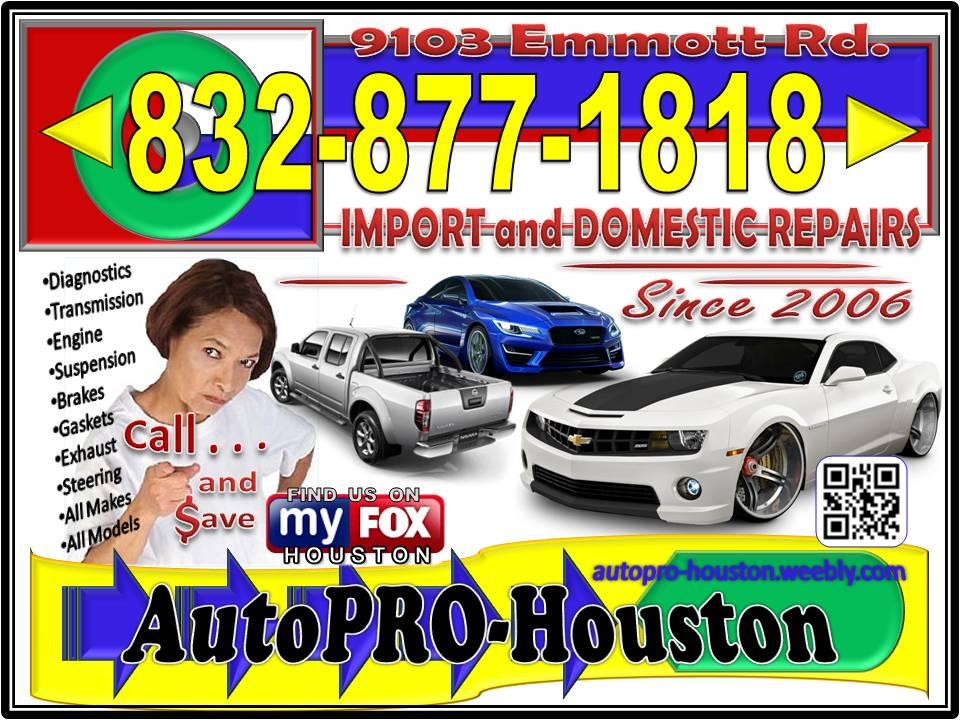 AC | Transmission | Engine | Electrical | Brake | Steering Repair