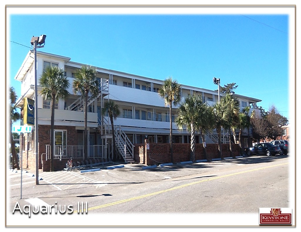 Aquarius III & IV–Two Motels For Sale-Myrtle Beach-Keystone Commercial Realty