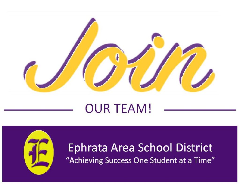 Ephrata Area School District Support Staff Openings