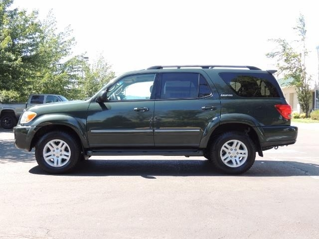 2006 Toyota Sequoia LIMITED 4X4 / 8 SEATS NAVi DVD / FRESH TIMING BELT