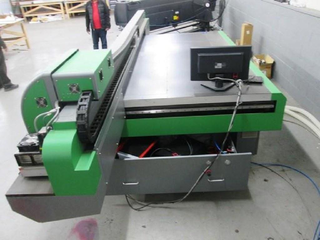 2013 Teckwin PQ300 UV Flatbed Printer RTR#6124957-01