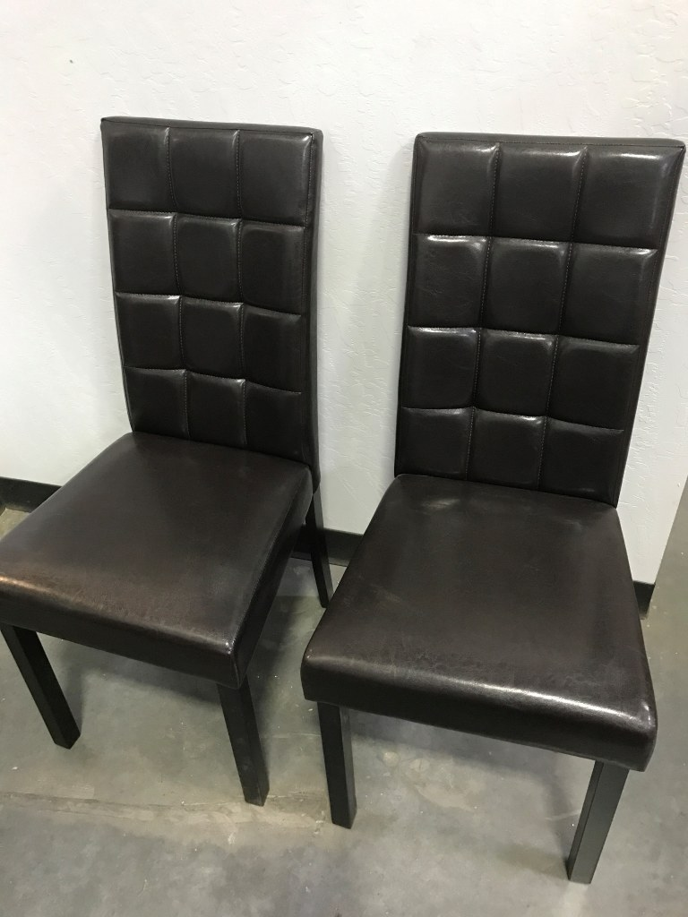 Dark Brown Dining Chairs