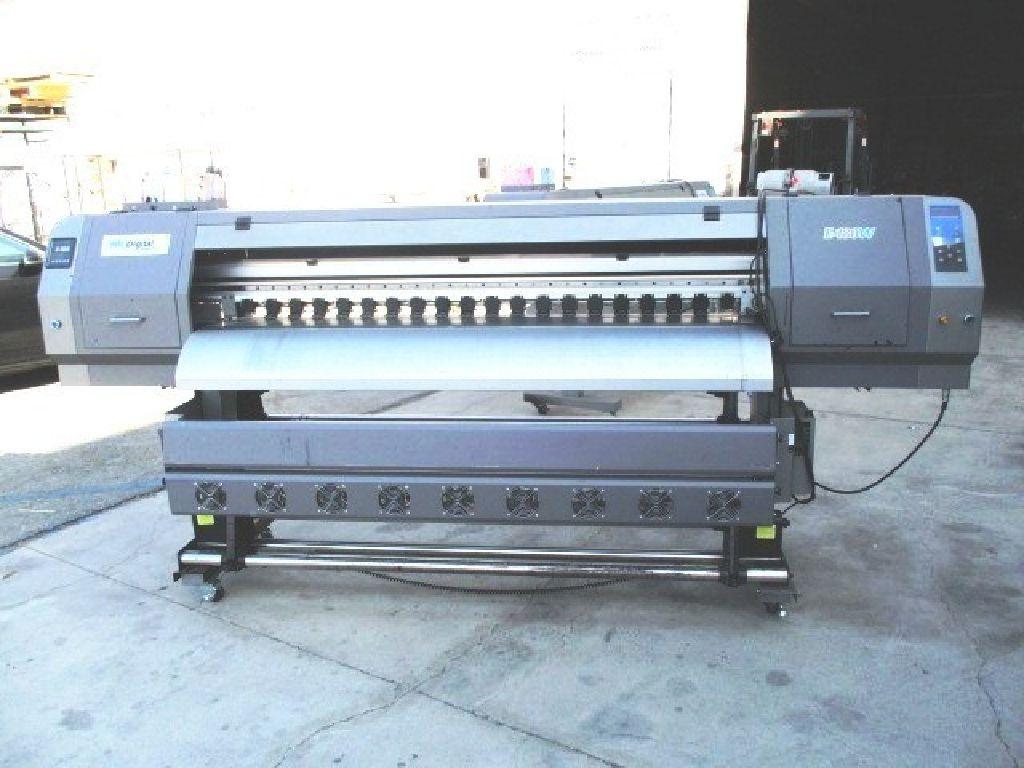 (3) HK Digital Large Format Printers (Non-Op) RTR#7031744-01
