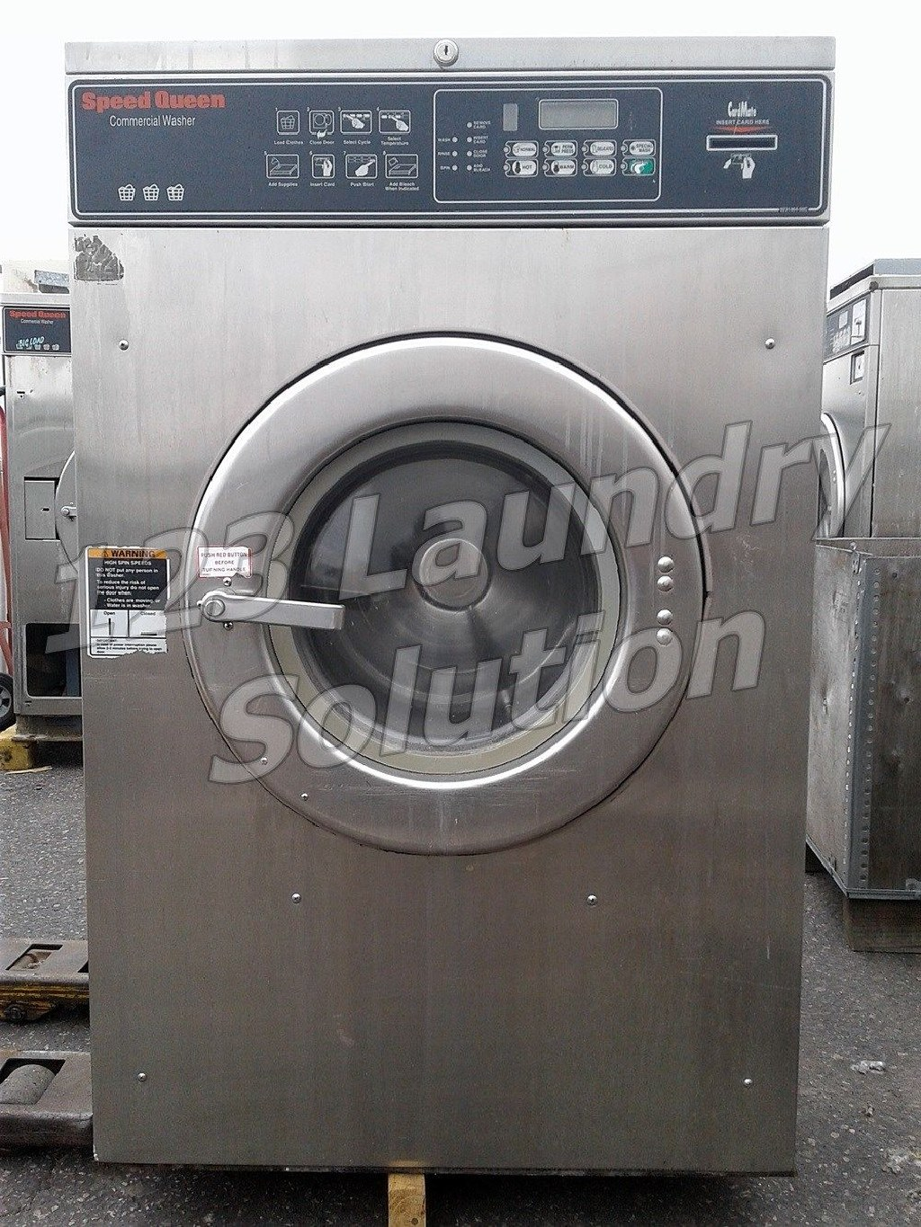 Coin Laundry LG White Front Load Washer (Double Load) GCW1069QS Used