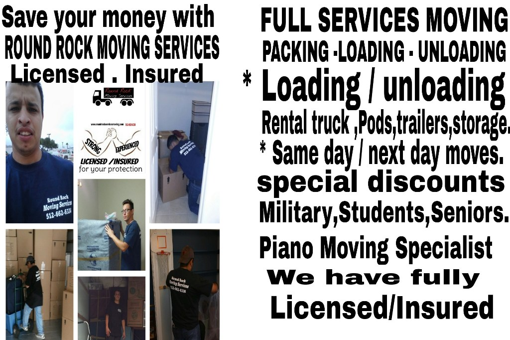 THE BEST MOVERS IN ROUND ROCK !!