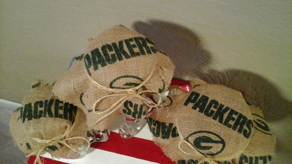 Chicago Cubs & Green Bay Packers Decor