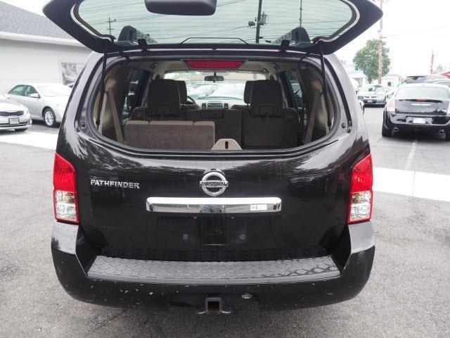2012 Nissan Pathfinder S 4WD