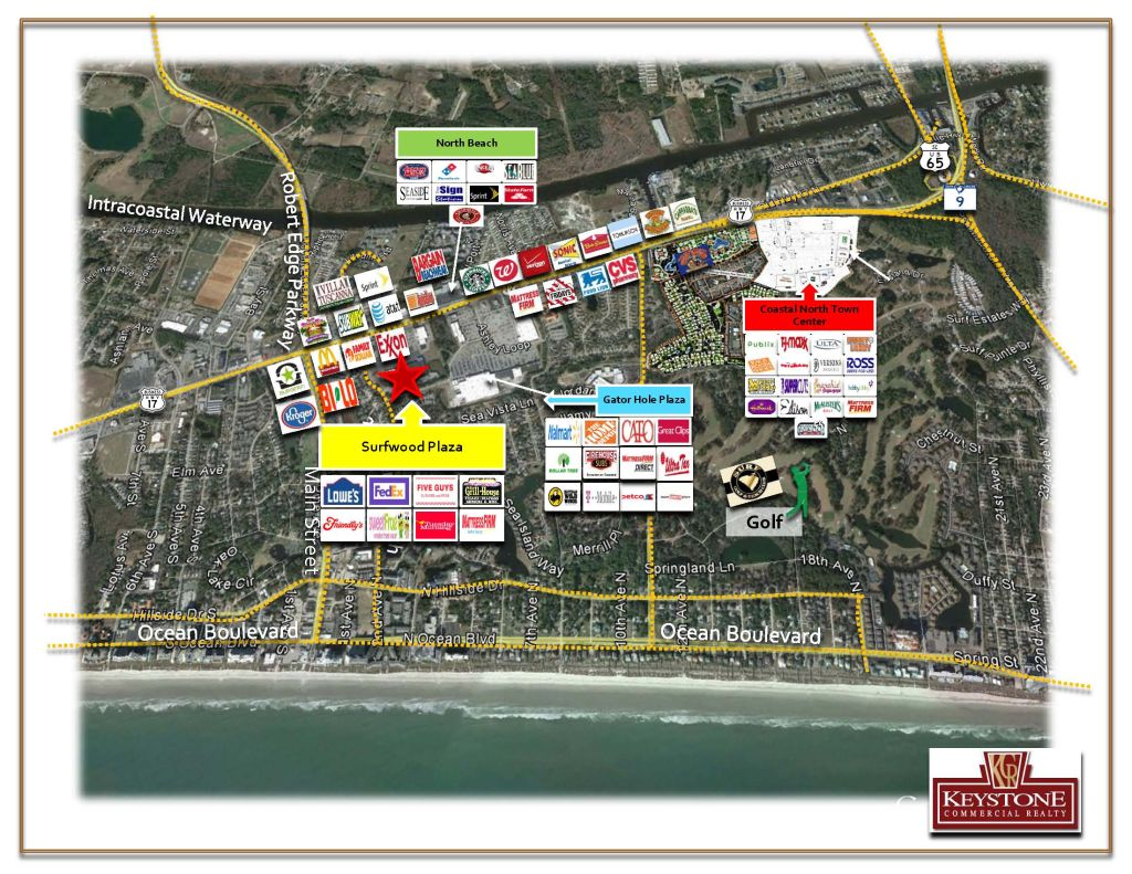 Surfwood Plaza Shopping Center-Unit 202-Former Restaurant-3,200 SF For Lease