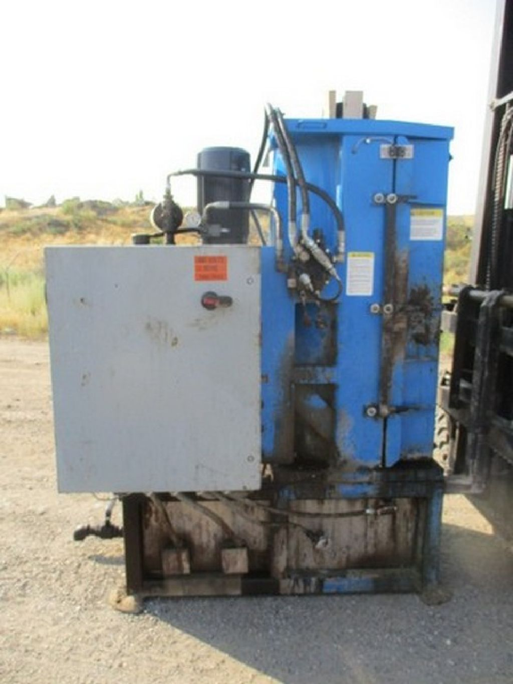 Drumbeaters DC-7000 Drum Washer/Crusher 10 Hp RTR#7081900-01