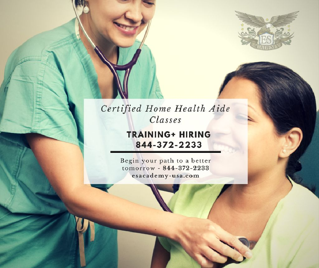 3-Week Employment Home Health Aide Courses