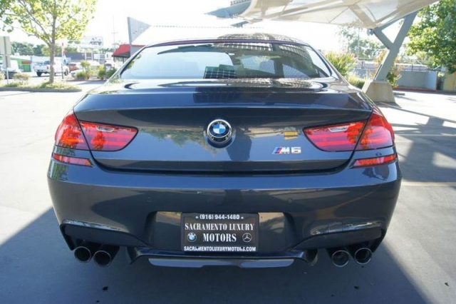 2016 BMW M6 Gran Coupe 4dr Sedan