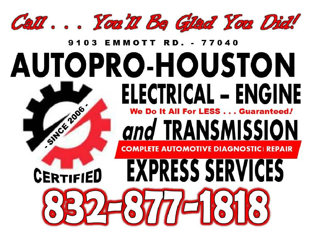 Certified Auto Repair Shop - Jersey Village TX 77040