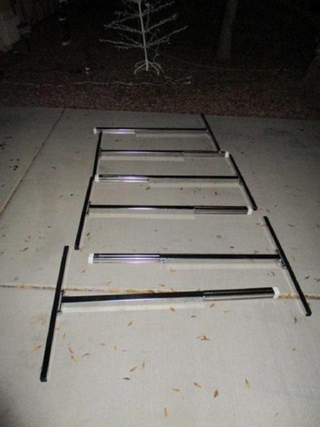 Lot of 4 8' Free Standing Ballet Barres RTR#7011060-01