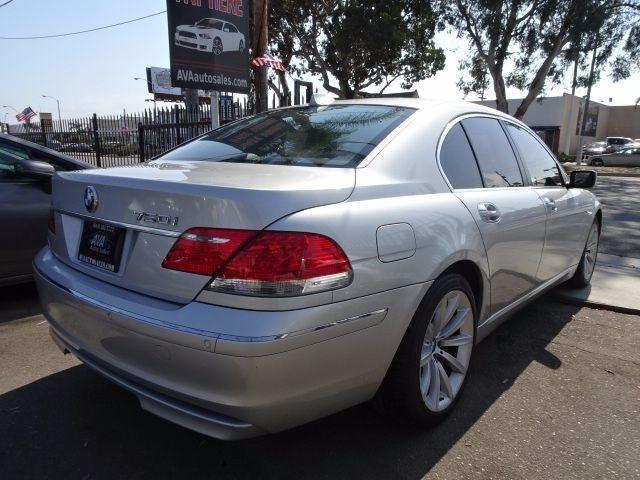 2008 BMW 7-Series 4dr Sdn 750i