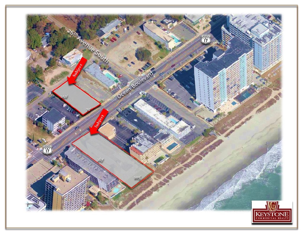 Exeter Ocean Front Lot-.64 Acres-Land For Sale-Myrtle Beach