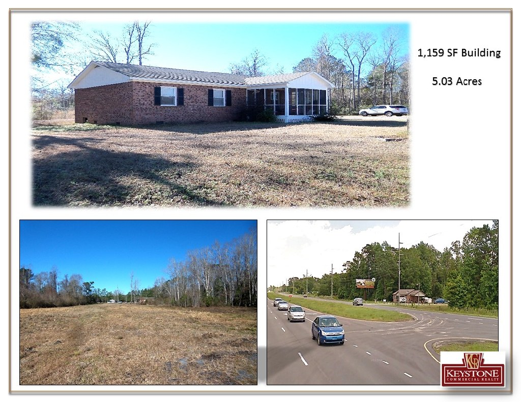 Eagle Wings Tract-1,159 SF Bldg with 5.03 Acres- For Sale-Keystone Commercial Realty
