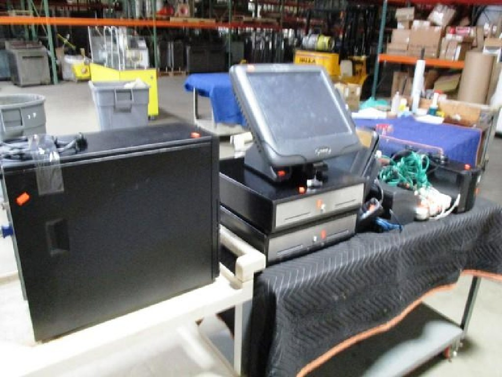 Lot of (2) Radiant POS Terminals w/ Accessories RTR# 7022565-01