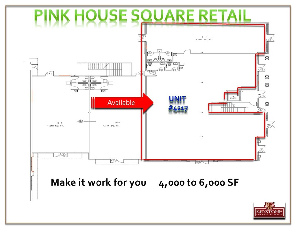 Pink House Square- Retail Space-For Lease-Myrtle Beach-Keystone Commercial Realty