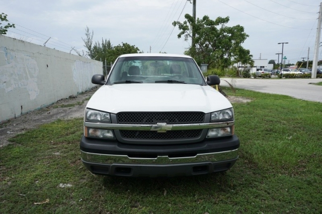 2005 Chevrolet Silverado 1500 Reg Cab 133.0