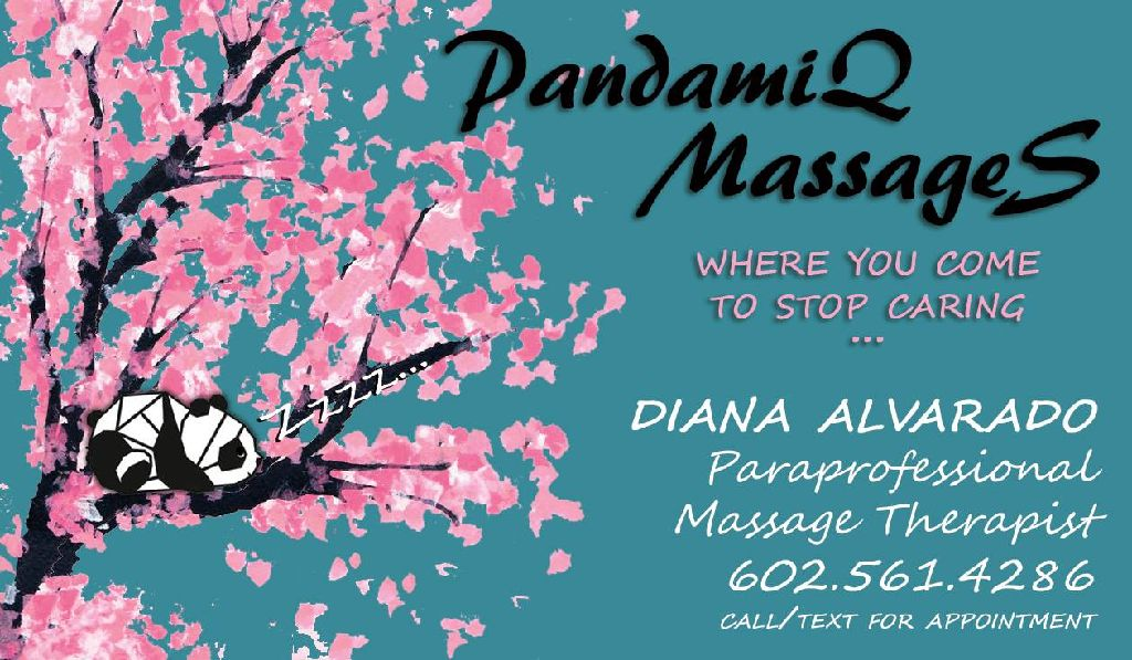 PandamiQ MassageS: Where you come to stop caring