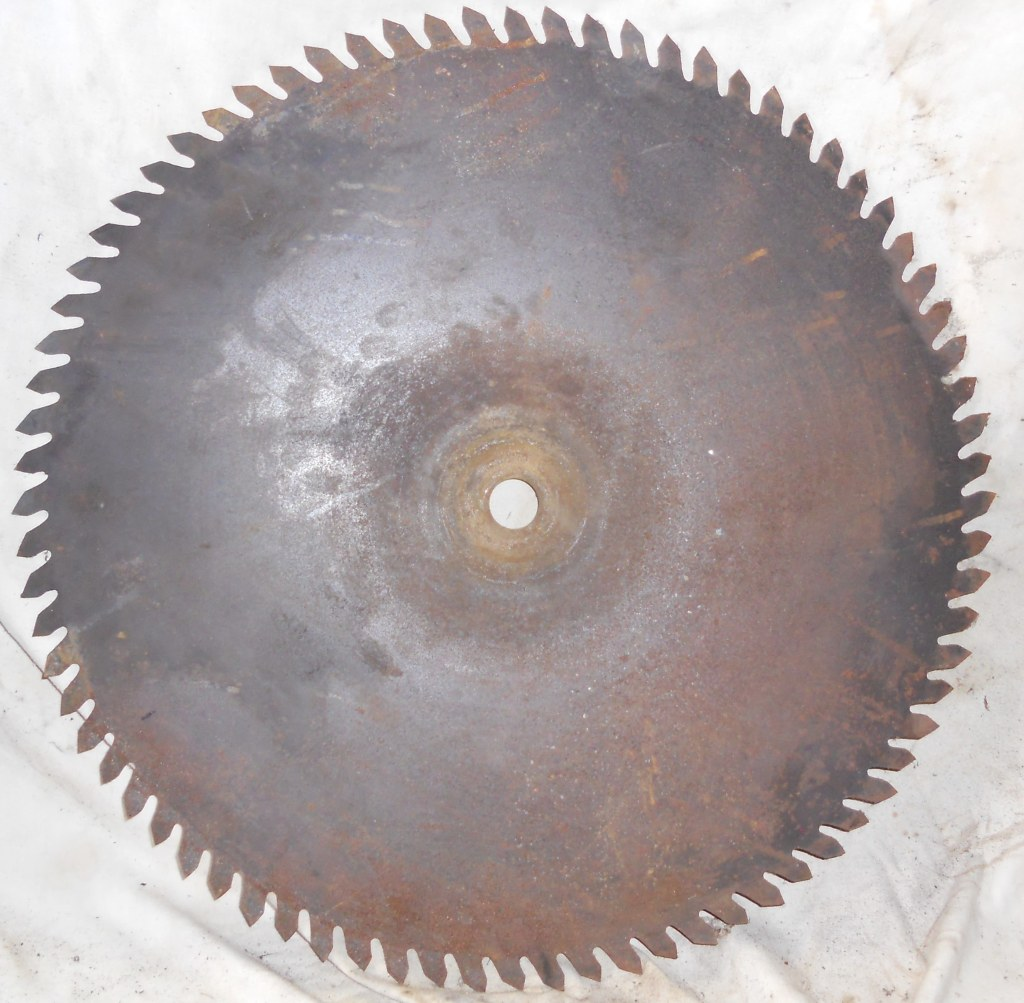 Large antique sawmill/buzz saw blades { 3 of them }