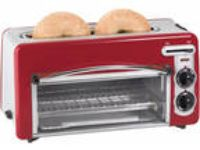 New Hamilton Beach Toastation 2-in-1 2-Slice Toaster Red