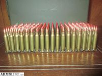 For Sale/Trade: 180 ROUNDS of 5.56 RED TIP TRACER AMMO