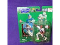 STARTING LINEUP NFL EDDIE GEORGE Houston Oilers 1998