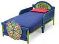 Delta Children D-Footboard Toddler Bed Nickelodeon Ninja Turtle