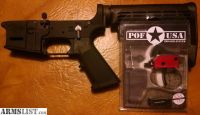 For Sale: Anderson AR-15 lower with POF 4.5 Trigger
