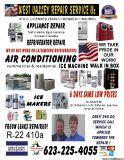 in HOME: APPLIANCE refrigerator stove Freezer REPAIRS honest & reliable $45 checkup