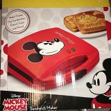 Mickey Mouse Sandwich Maker- Brand New in Box!