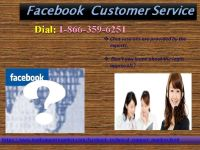 Grab Facebook Customer Service @ 1-866-359-6251 To Remove Tag From A FB Post