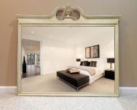Shabby chic country mirror