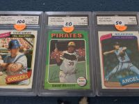 Cards: Graded Mint 9 & 10 (Baseball)