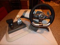 Xbox 360 Steering Wheel + Pedals