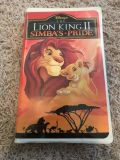 The lion king 2: Simba s pride VHS