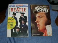 1964 The Beatle Book and 1976 The Illustrated Elvis book