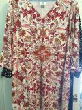 Old Navy Size XL 3/4 Sleeve Shift Dress (Lined)
