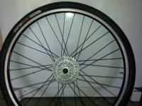 Mountain bike disk brake rim - rear