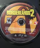 PS3 Video Game Borderlands 2 Game Only & Generic Case Rated M 2K Games