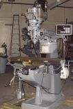 Lathe bridgeport milling machine surface grinder doall metal saw clausing drill press roto fin mill