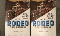 2 SA Rodeo tickets for Monday 2/17/18 Brad Paisley