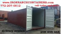 CARGO STORAGE CONTAINERS
