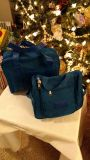 """Two Turquoise """"Take Anywhere"""" Bags (Brand New) $5.00 Each or Both For $8.50"""
